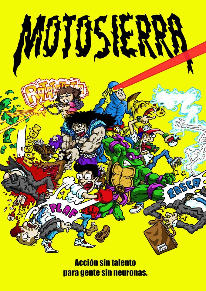 Book Cover: Motosierra Nº1