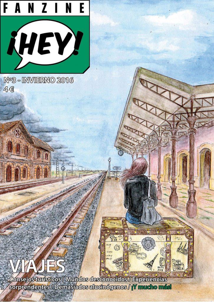 Book Cover: ¡Hey! nº3. Viajes