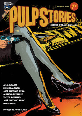 Book Cover: Pulp Stories