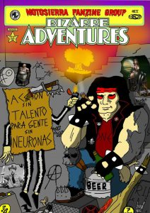 Book Cover: Motosierra Bizarre Adventures