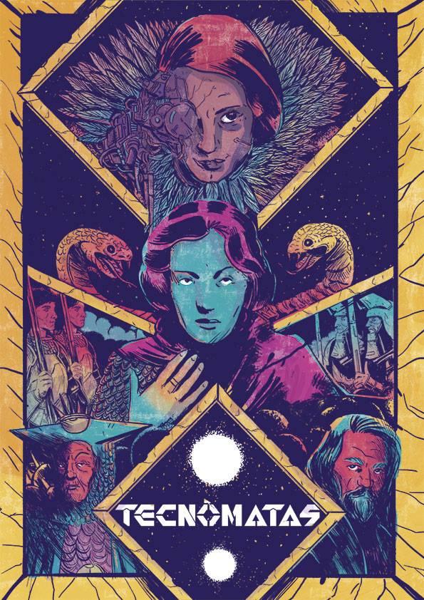 Book Cover: Tecnómatas