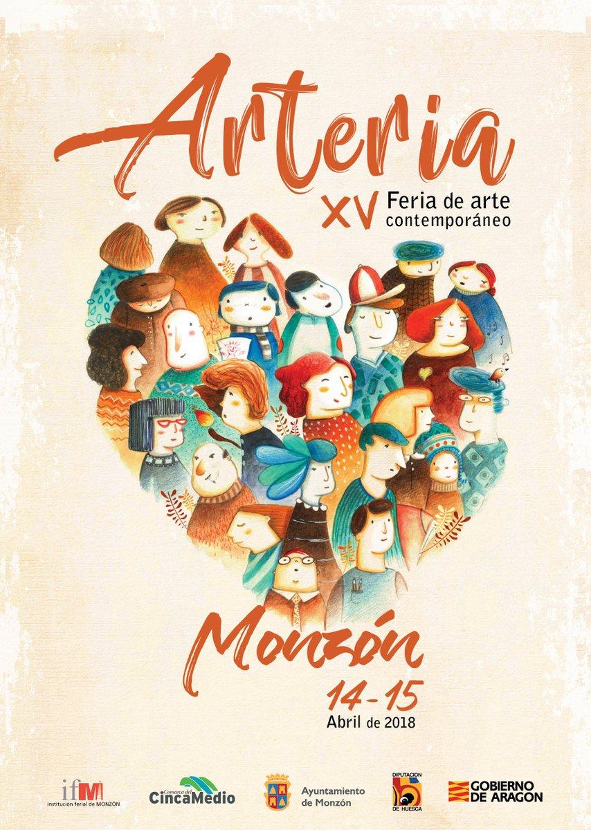 Exposición ARTERIA en Monzón