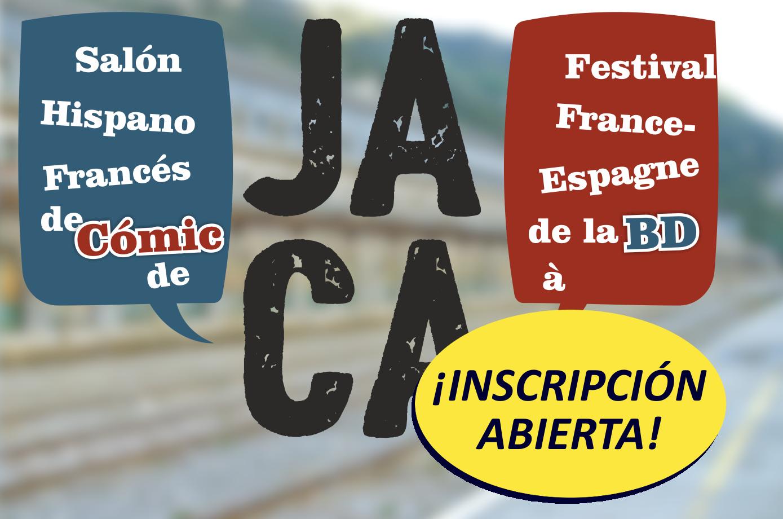 Inscripción francesa para el II Salón franco-español del cómic de Jaca