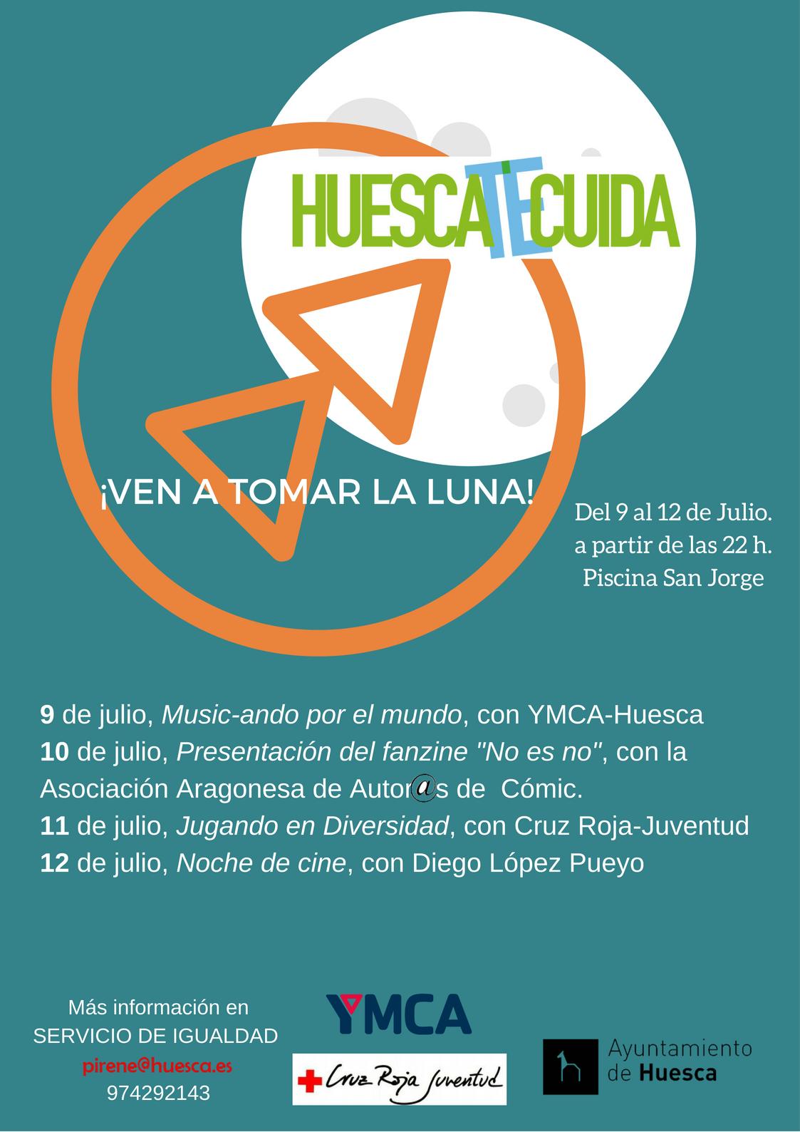 """NO es NO en """"¡Ven a tomar la luna!"""" de Huesca"""