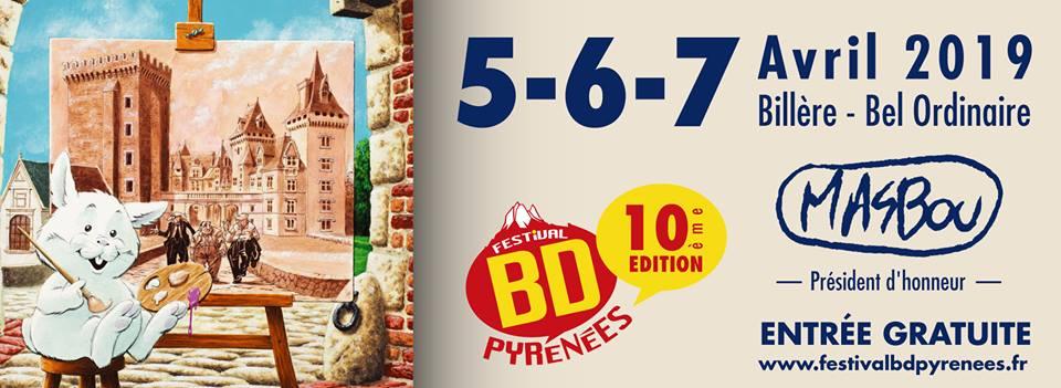 Participación en el festival BD Pyrenées de Billère