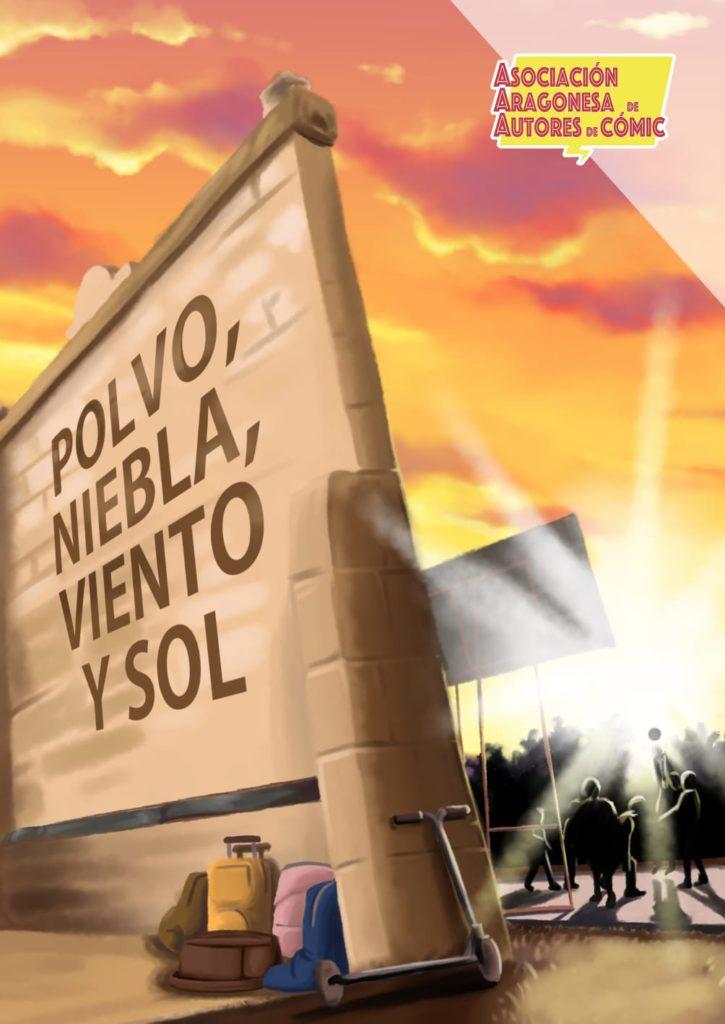 POrtada de POLVO, NIEBLA, VIENRO Y SOL